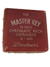 Lindner's Master Key Chromatic Pitch Instrument - Vintage - Very Early