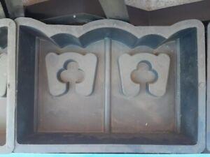plastic mold for making paving slabs