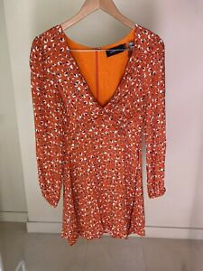 Minkpink Long Sleeve Mini Dress Size S