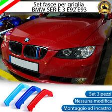 BMW SERIE 3 E92 E93 2005 - 2009 COVER PER GRIGLIA IN STILE M SPORT AD INCASTRO
