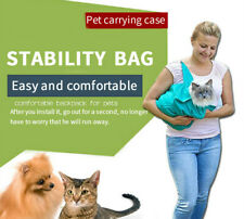 Outdoor Cat Bags Portable Foldable Pet Carrier Bags Breathable Comfort Out Bags