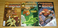 Hammer of the Gods: Hammer Hits China #1-3 VF/NM complete series - norse myth