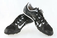 Men's Nike Rival Md Track Running Spike Shoes ~ Black & White ~ Size 10