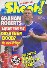 GRAHAM ROBERTS / CYRILLE REGIS COVENTRY / BOBBY DAVISONShoot4July1987