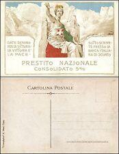 """V Prestito nazionale,""""date denaro per la vittoria"""" ill. Mataloni, nuova"""