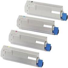 Okidata C5500 C5500N C5650 C5650N C5800 C5800N TONER CARTRIDGE SET 4 TONERS BCYM