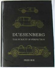 DUESENBERG THE PURSUIT OF PERFECTION Fred Roe ISBN:090156432X Car Book