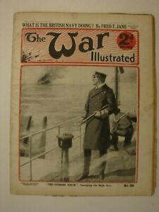 The War Illustrated, Great War # 20 (Hartlepool, Flanders, East Coast Defences)
