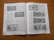 1906 STORIA DEL BANCONOTA ITALIANA REGNO ANTICA NUMISMATICA EPOCA BIGLIETTI BANC