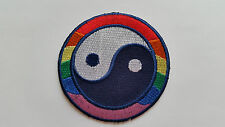 ANTI-WAR CND HIPPIE PEACE SEW ON / IRON ON PATCH:- NAME TO FOLLOW NUMBER 0041
