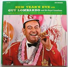 GUY LOMBARDO AND HIS ROYAL CANADIANS  New Year's Eve  LP 1974 Album Reissue MCA