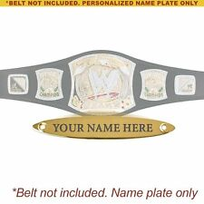 Personalized Nameplate for Adult WWE Spinning Championship Replica Belt