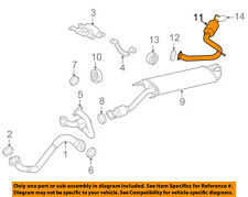 fits/>Toyota RAV4 2006-2007-2008-2009-2010-2011-2012 Direct-Fit front pipe 53732