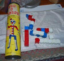 Vintage Lok-A-Blok Plastic Building Blocks Hillcraft Industries no 3