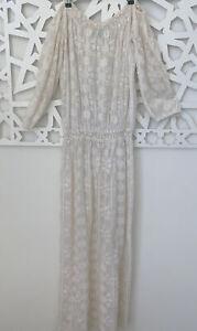 Melissa Odabash Off-White Maxi Beach Dress
