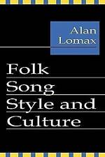 NEW Folk Song Style and Culture