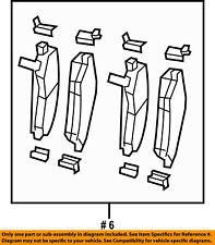 CHRYSLER OEM Brake-Rear Pads 68003776AA
