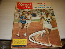 SPORT & VIE 53 10.1960 SPECIAL RESULTATS JEUX OLYMPIQUES ROME FOOT REAL MADRID