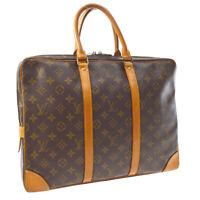LOUIS VUITTON PORTE DOCUMENTS VOYAGE HAND BAG MONOGRAM M53361 VI0970 A54365