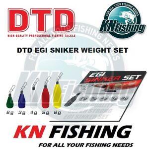 DTD EGI SINKER Set for Eging 2gr 3gr 4gr 5gr 6gr