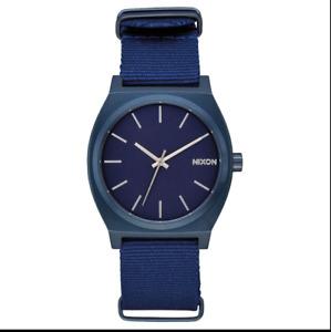 NIB Nixon Watch The Time Teller All Blue Watch aa72