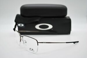 NEW OAKLEY OX5148-0256 WINGBACK SQ PEWTER AUTHENTIC EYEGLASSES FRAME RX 56-18