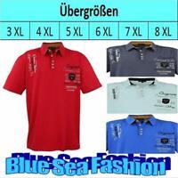 Redfield Poloshirt Übergröße dunkelgrün 2XL 3XL 4XL 5XL 6XL 7XL 8XL 10XL NEU