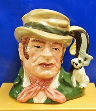 LARGE ROYAL DOULTON CHARACTER TOBY JUG BILL SIKES D6981 *LIMITED WITH CERT*