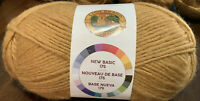 Lion Brand New Basic 175 Yarn, Camel, Med Wght(4), 25% Wool