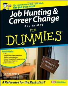 Job-Hunting & Career Change All-in-One For Dummies� by Yeung Paperback Book The