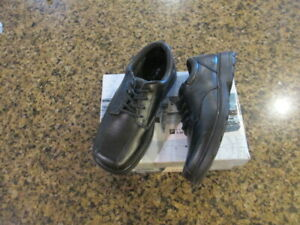 Sperry Top Sider Nathaniel Oxford Boys Toddler 9 M Black Leather Lace Up NIB
