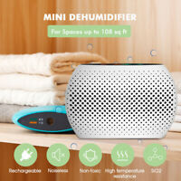 Portable Mini Air Dehumidifier Electric Home Closet Cabinets Bedroom  !