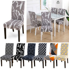 New Dining Chair Covers Washable Slipcovers Home Restaurant Stretch Seat