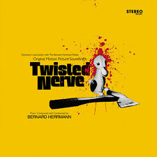 Twisted Nerve - Deluxe Yellow Vinyl + CD + EP- Limited Edition -Bernard Herrmann