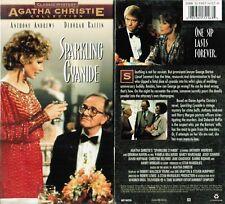 Sparkling Cyanide VHS Video New Anthony Andrews Deborah Raffin Agatha Christie