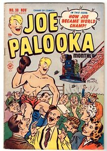 Joe Palooka #38, Fine Condition