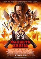 MACZETA ZABIJA (Danny Trejo) DVD (Sofia Vergara, Michelle Rodriguez, A.Heard)