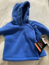 New Boy'S Widgeon Usa Boutique Polartec Wrap Hooded Fleece Coat Jacket Sz 6M Nwt