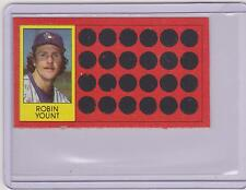 1981 TOPPS SCRATCH OFF ROBIN YOUNT CARD #10 ~ MULTIPLES AVAILABLE ~  L@@K!!!