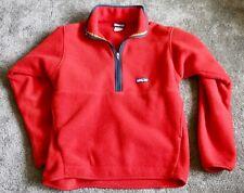 Men's Patagonia Synchilla Red Hybrid Fleece Jacket Sz M Zip Front Coat