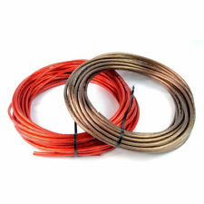8 Gauge 50ft Black & 50ft Red Power/Ground Wire for Car Audio Amplifier Systems