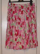 Monsoon stunning silk/cotton skirt, Very Pretty Size 12