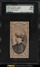 1880 N342 Thos H Hall Actors & Actresses Annie Russell SGC 2 GD