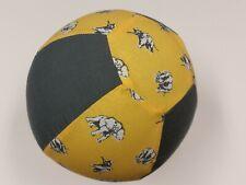 Balloon Ball Cover – Elephant ~ YELLOW ~ GREY - Handmade in Australia