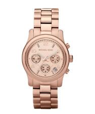 Michael Kors MK5128 Women's Runway Rose Gold-Tone Watch 5253