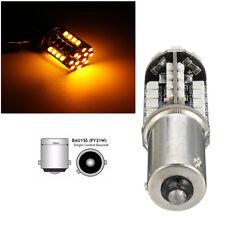 44 SMD LED CANBUS 581 BAU15S 1156 PY21W BOMBILLAS LUZ INDICADOR NO ERROR ÁMBAR