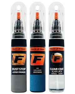 Touch up paint for FORD DESERT ISLAND BLUE MET  JDCEWHA IJ 5JDC  Kit Pen Brush