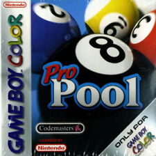 Pro Pool On Gameboy Game Only 5E