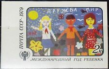 Russia Unione Sovietica 1979 4878 U 4772 Imperf IYC Intl. year of the child bambino MNH