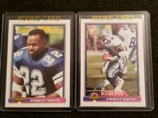 Emmitt Smith  ROOKIE LOT, 2 Different cards.